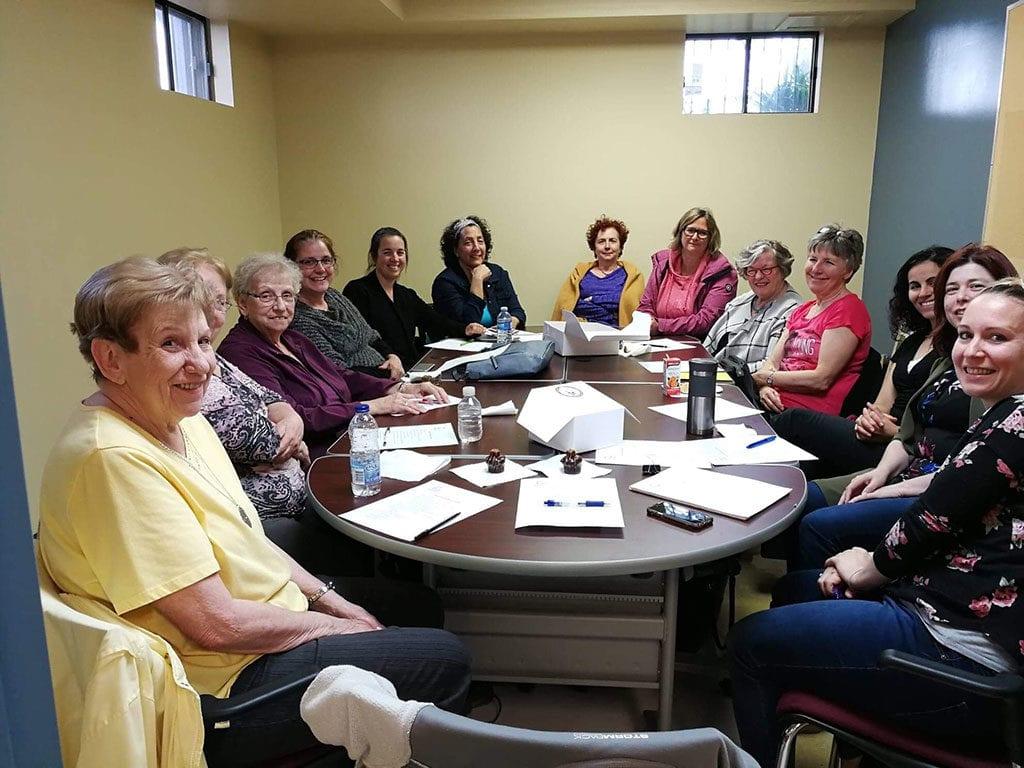 Les bénévoles de la bibliothèque Ryane-Provost