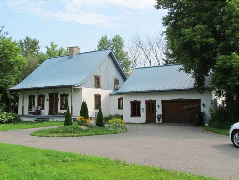 Maison Joseph-Duhamel sur le chemin du Ruisseau Sud