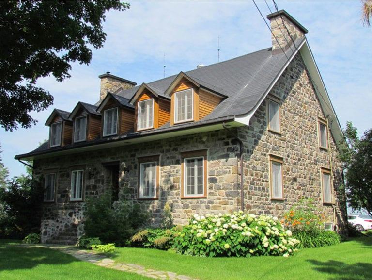 Maison Joseph-Préfontaine sur le chemin du Ruisseau Nord