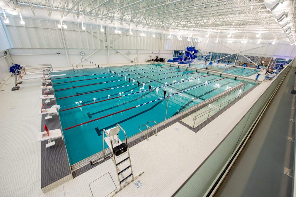 Bassin sportif du Centre aquatique Beloeil