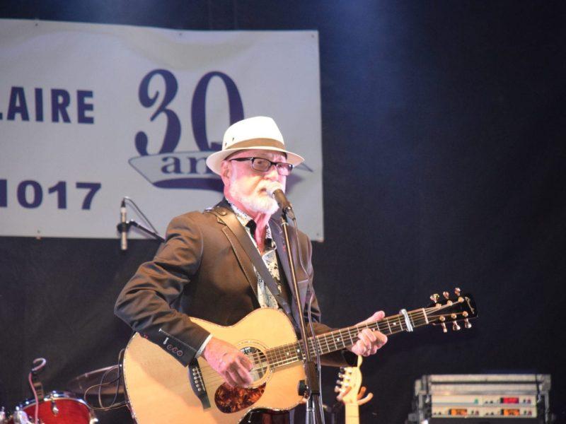 Patrick Normand en spectacle lors de la Fête St-Mathieu 2017